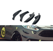 Maxton Design Maxton Design FRONT BUMPER WINGS (CANARDS) FORD FIESTA 7 ST FACELIFT