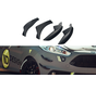 Maxton Design FRONT BUMPER WINGS (CANARDS) FORD FIESTA 7 ST FACELIFT