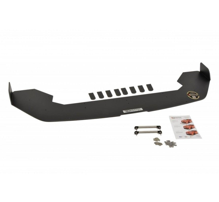 Maxton Design FRONT RACING SPLITTER FIESTA MK7 ST FACELIFT (WITH WINGS)