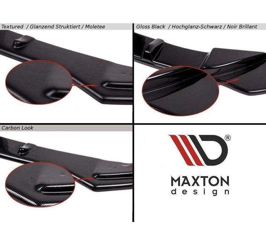 Maxton Design FRONT SPLITTER FIESTA MK7 ST FACELIFT 2013-2016