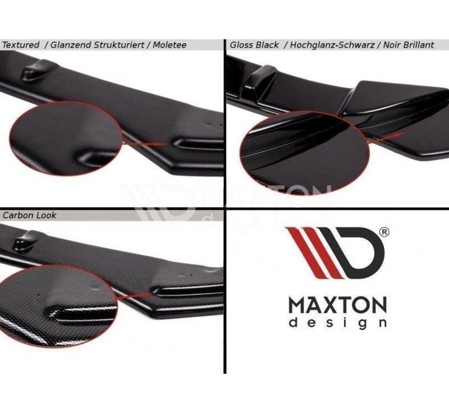 Maxton Design FRONT SPLITTER V.2 FIESTA MK7 ST FACELIFT 2013-16