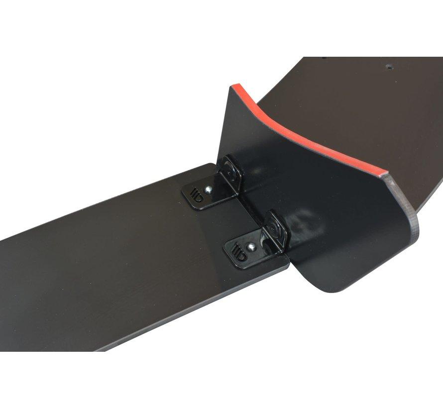 Maxton Design REAR DIFFUSER V.2 FORD FIESTA MK7 ST FACELIFT