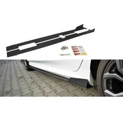 Maxton Design Maxton Design RACING SIDE SKIRTS DIFFUSERS V.1 FORD FIESTA MK8 ST/ ST-LINE