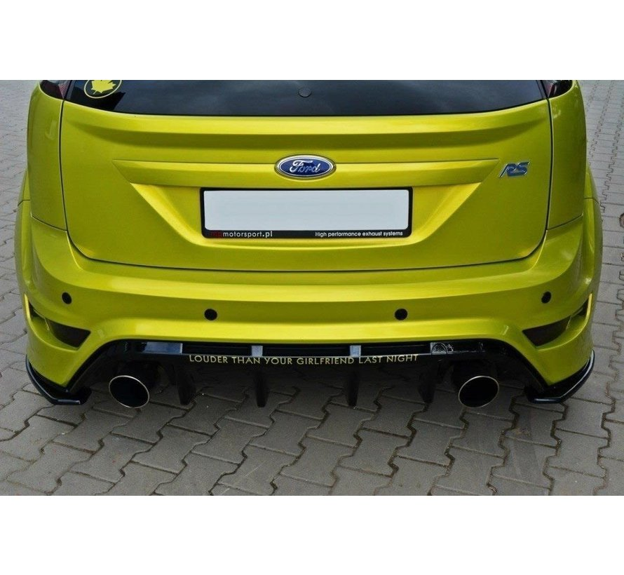Maxton Design REAR SIDE SPLITTERS FORD FOCUS MK2 RS