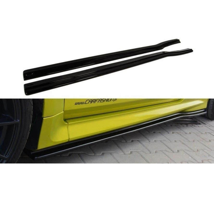 Maxton Design SIDE SKIRTS DIFFUSERS FORD FOCUS MK2 RS