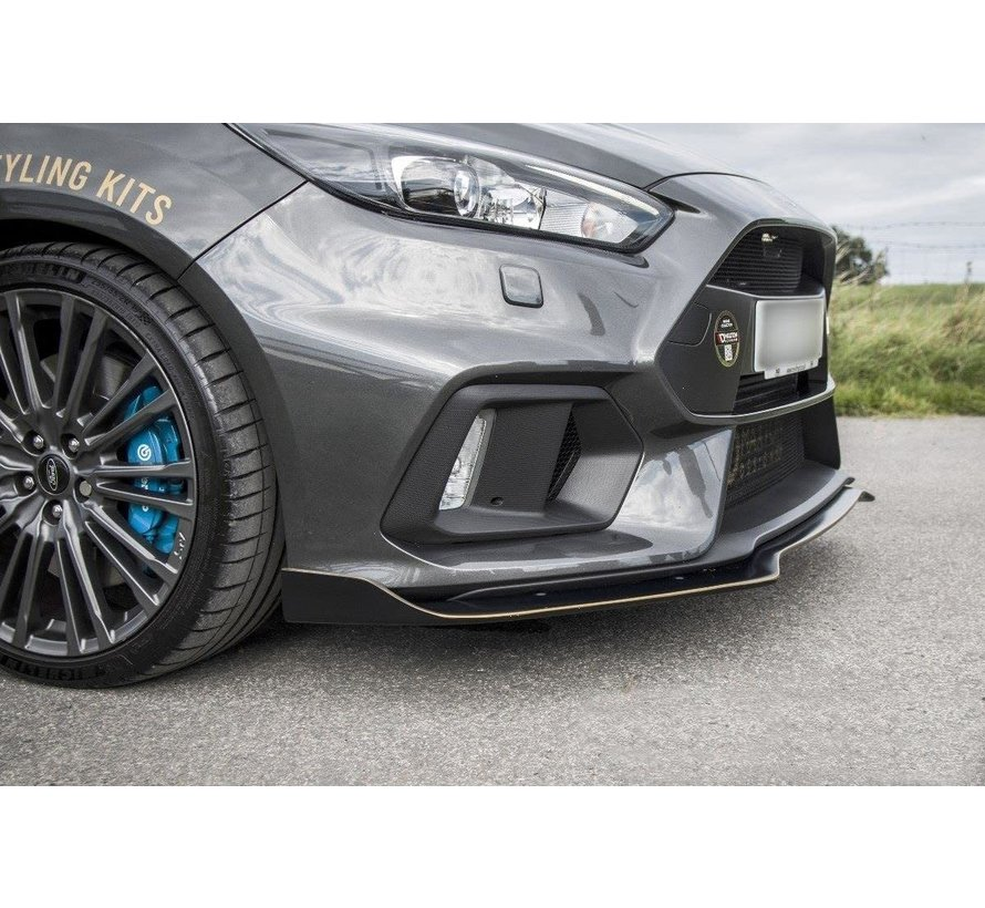 Maxton Design FRONT SPLITTER 'AERO' FORD FOCUS MK3 RS