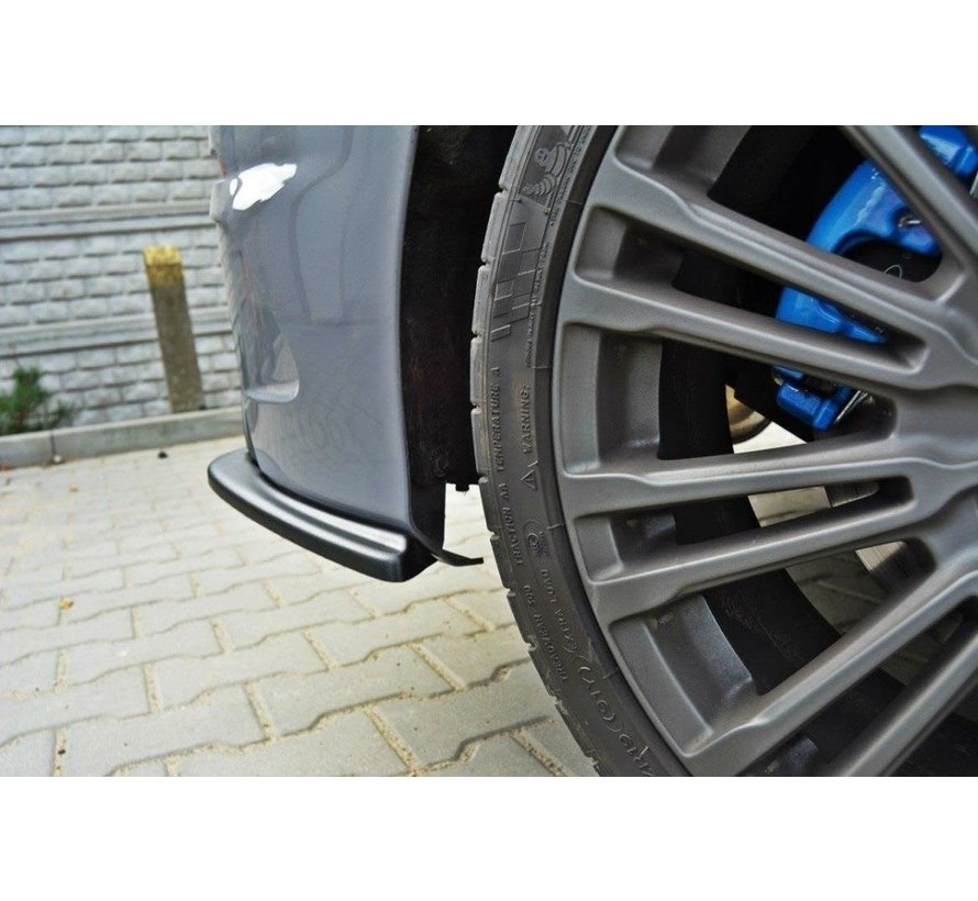 Maxton Design REAR SIDE SPLITTERS FORD FOCUS 3 RS