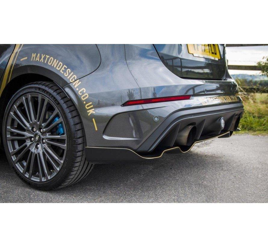 Maxton Design REAR SPLITTERS 'AERO' FORD FOCUS MK3 RS