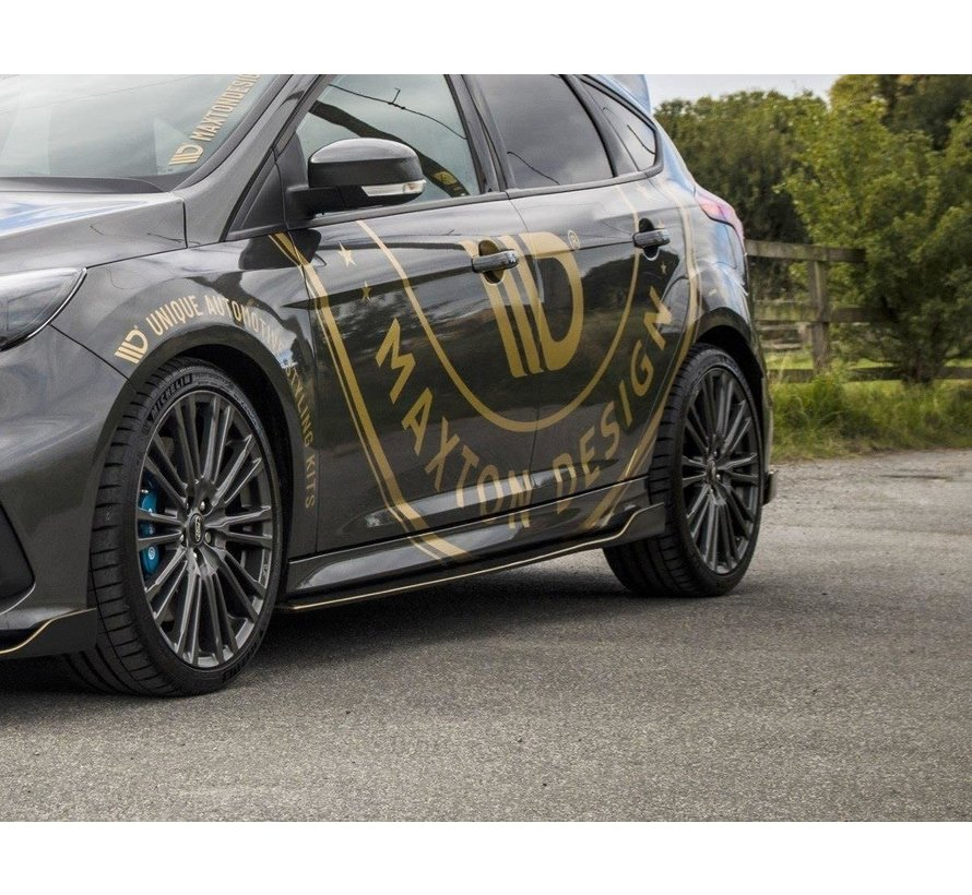 Maxton Design SIDE SKIRTS DIFFUSERS 'AERO' FORD FOCUS MK3 RS