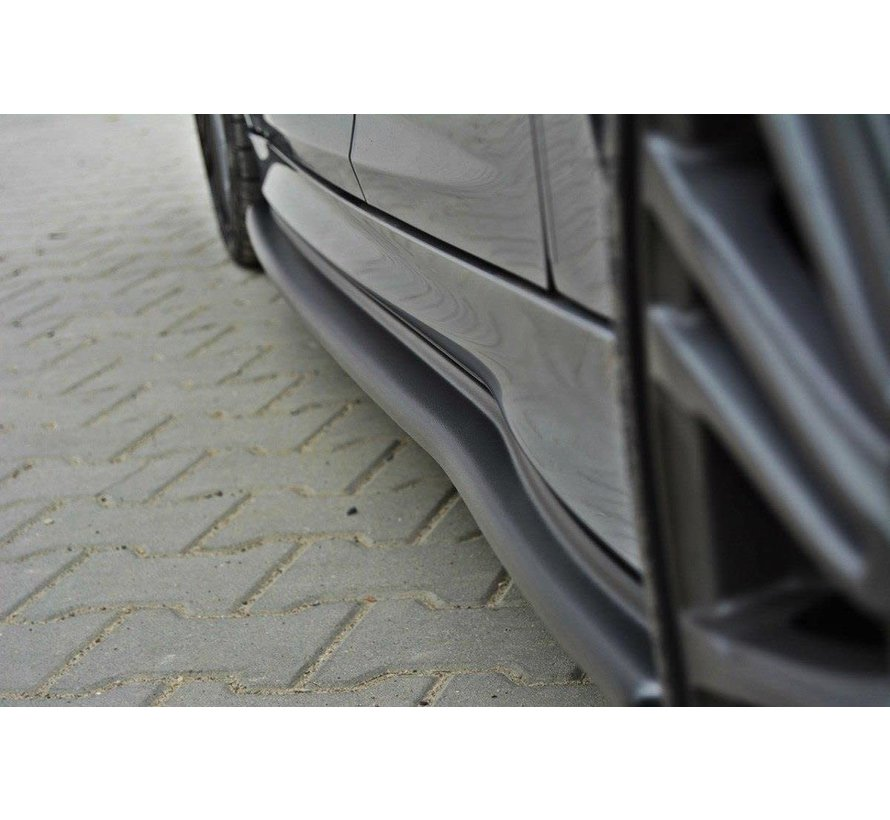 Maxton Design SIDE SKIRTS DIFFUSERS FORD FOCUS 3 RS