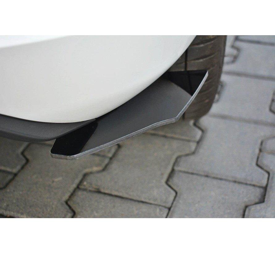 Maxton Design REAR SIDE SPLITTERS FORD FIESTA MK8 ST-LINE