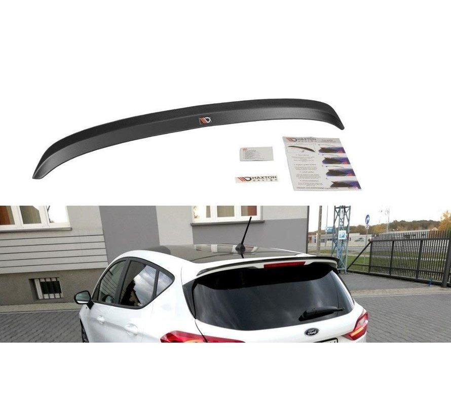 Maxton Design SPOILER CAP FORD FIESTA MK8 STANDARD/ ST-LINE
