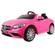 OSP Accu-Auto Mercedes S63 Roze - 12V - incl. MP3 en afstandsbediening - vanaf 3 jaar