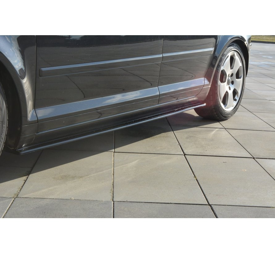 Maxton Design SIDE SKIRTS DIFFUSERS AUDI A3 SPORTBACK 8P / 8P FACELIFT