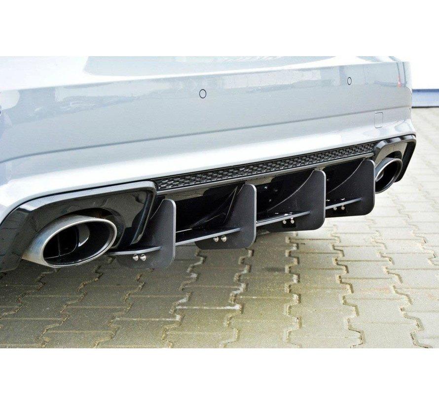 Maxton Design REAR DIFFUSER AUDI RS3 8V SPORTBACK