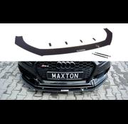 Maxton Design Maxton Design FRONT RACING SPLITTER V.1 AUDI RS3 8V FL SPORTBACK