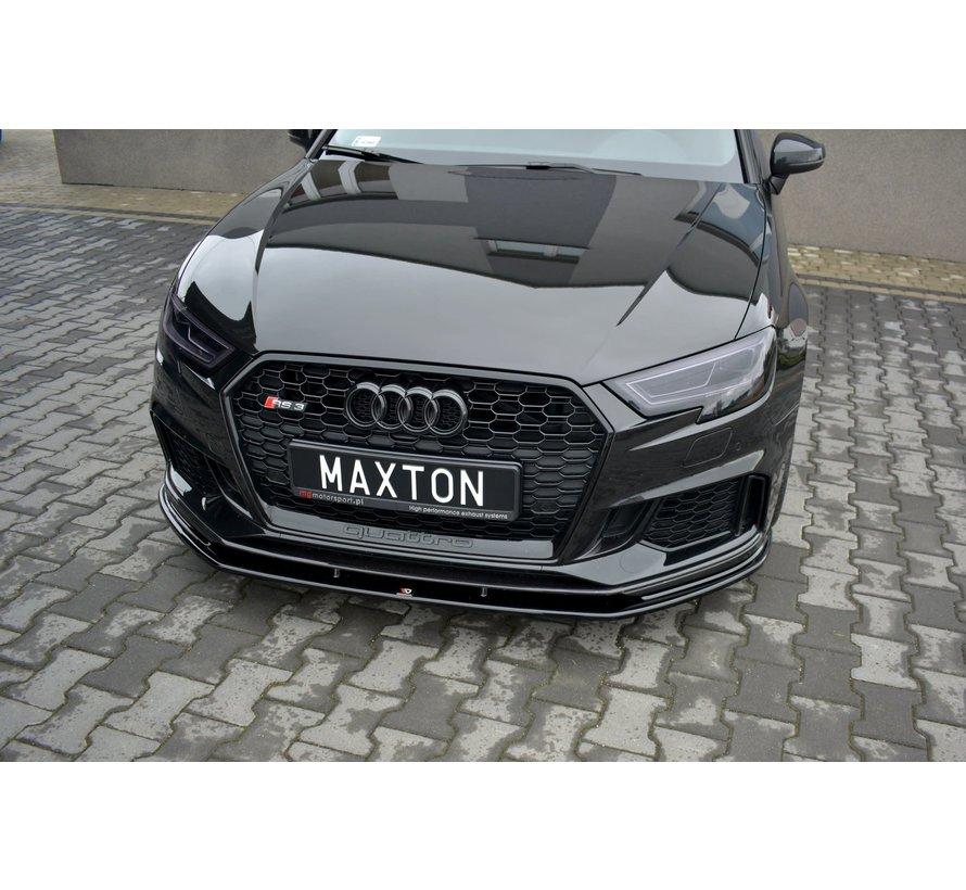 Maxton Design FRONT SPLITTER V.1 AUDI RS3 8V FL SPORTBACK