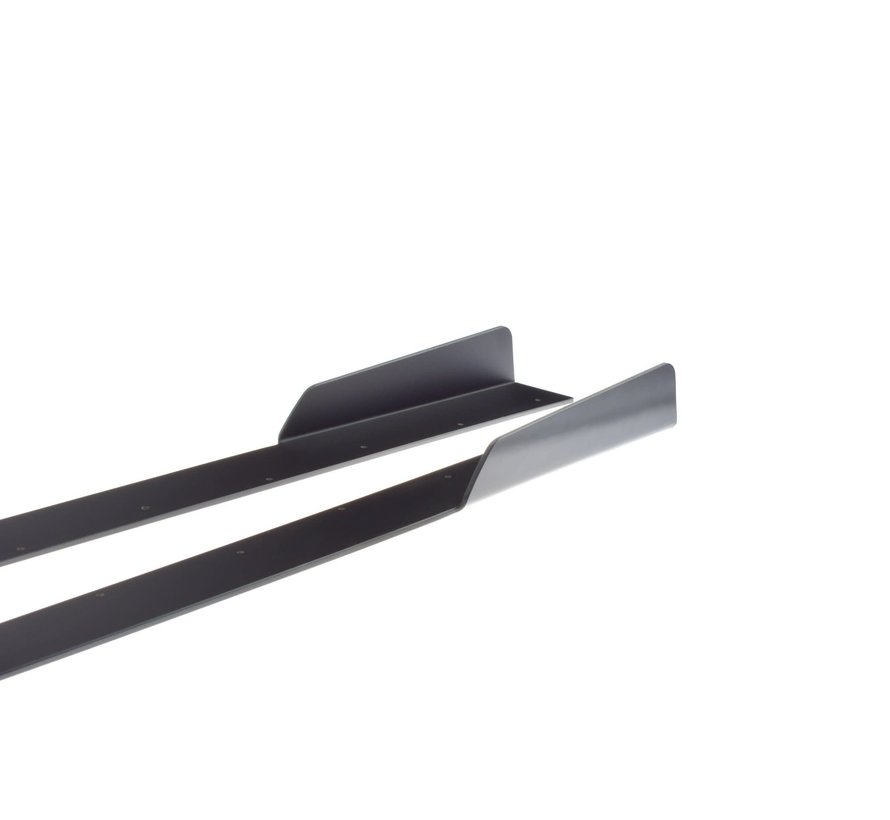 Maxton Design RACING SIDE SKIRTS DIFFUSERS V.2 AUDI AUDI RS3 8V FL SPORTBACK