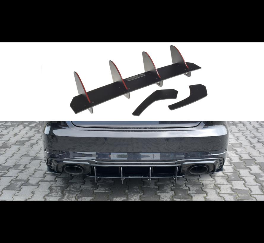 Maxton Design REAR DIFFUSER V.1 AUDI RS3 8V FL SPORTBACK