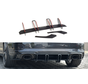 Maxton Design REAR DIFFUSER V.2 AUDI RS3 8V FL SPORTBACK