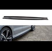 Maxton Design Maxton Design SIDE SKIRTS DIFFUSERS AUDI RS3 8V FL SEDAN