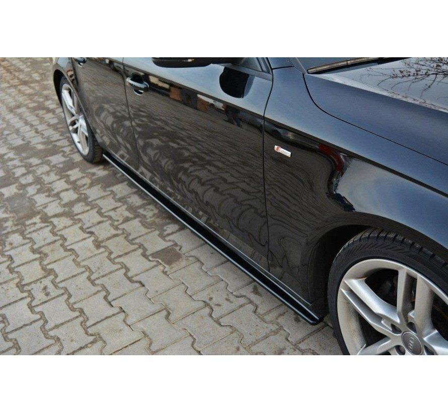 Maxton Design SIDE SKIRTS DIFFUSERS AUDI S4 / A4 / A4 S-LINE B8 / B8 FL