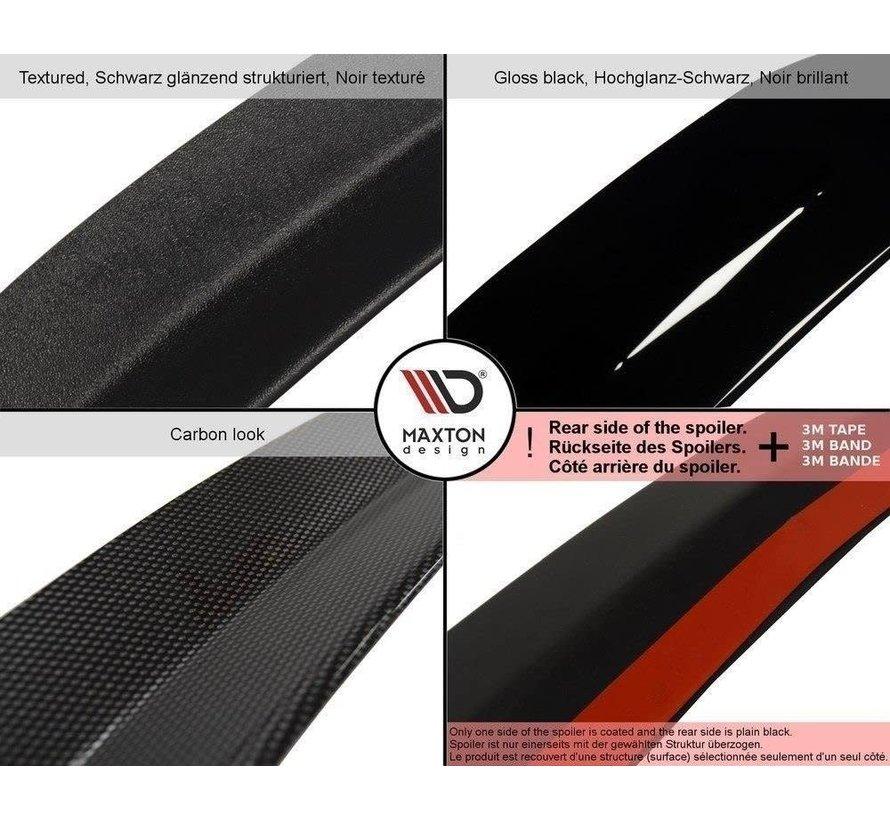 Maxton Design SPOILER CAP AUDI A4 / A4 S-LINE B8 / B8 FL SEDAN