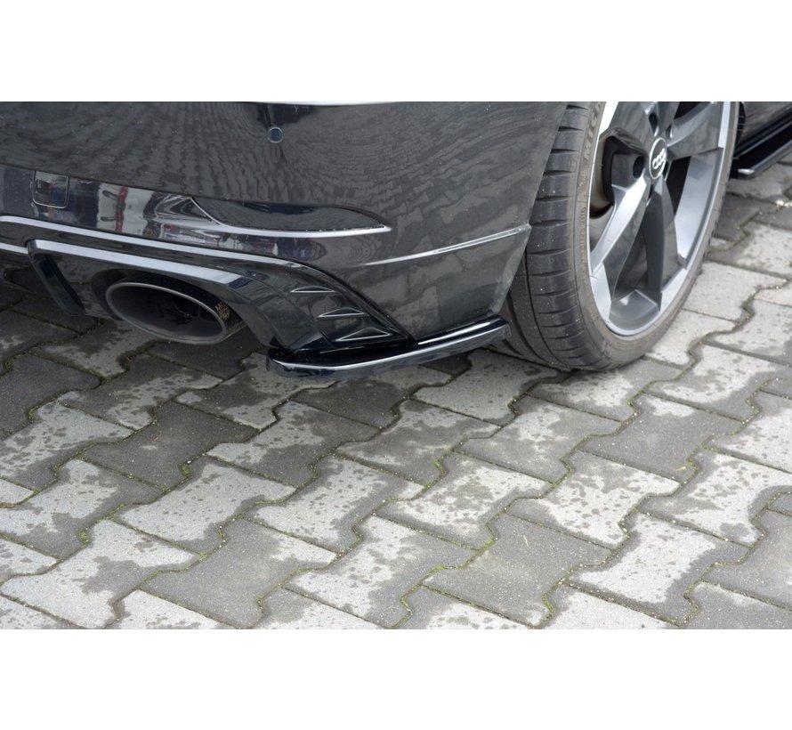 Maxton Design REAR SIDE SPLITTERS AUDI RS3 8V FL SPORTBACK