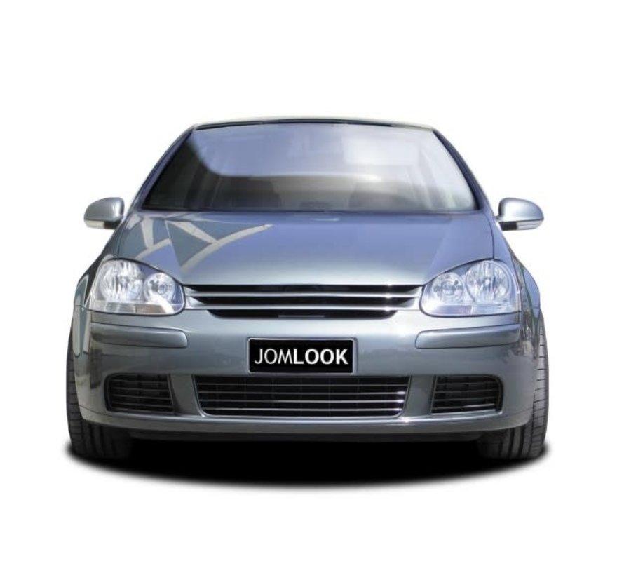 Embleemloze Grill Volkswagen Golf V 2003-2008 excl. GTi/R32