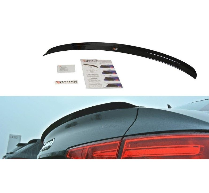 Maxton Design SPOILER CAP AUDI A4 S-LINE B9 SEDAN