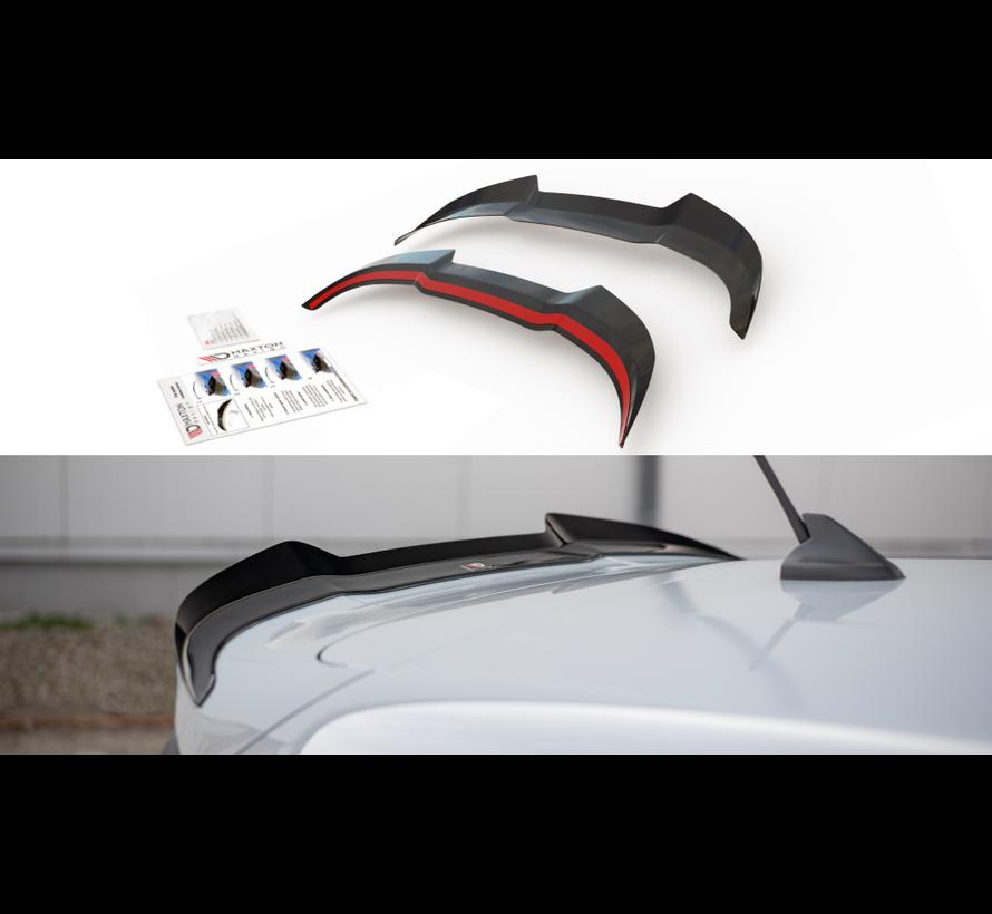 Maxton Design SPOILER CAP V.2 FORD FIESTA MK8 ST / ST-LINE