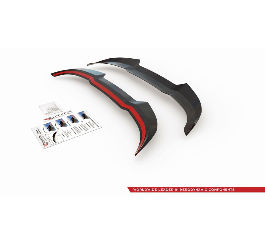 Maxton Design SPOILER CAP V.3 FORD FIESTA MK8 ST / ST-LINE