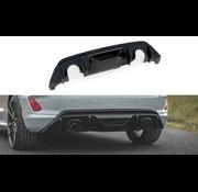 Maxton Design Diffuser + Milltek Sport Exhaust Extension Ford Fiesta mk8 ST