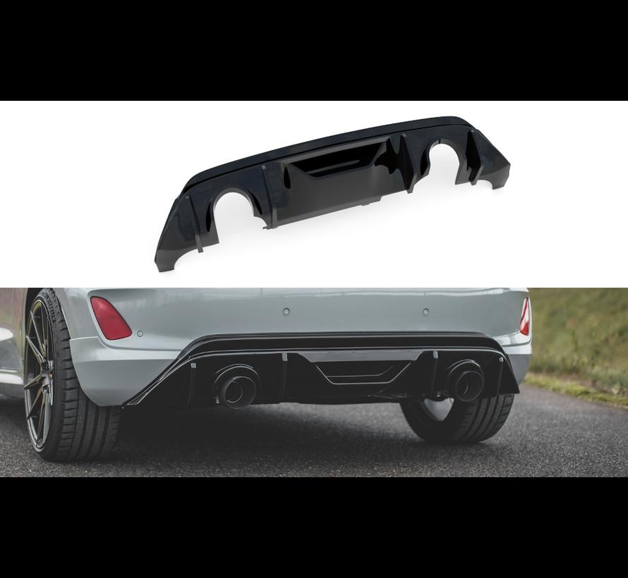 Diffuser + Milltek Sport Exhaust Extension Ford Fiesta mk8 ST
