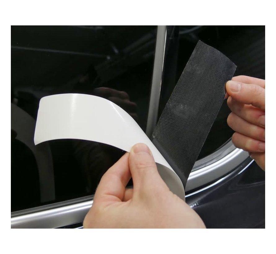 Foliatec 'Chrome Delete' Set Zwart Glanzend - Folie strip 5cm x 15m