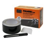Foliatec Foliatec 'Chrome Delete' Set Zwart Glanzend - Folie strip 5cm x 15m