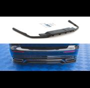 Maxton Design Central Rear Splitter (with vertical bars) Volvo S60 R-Design Mk3