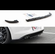 Maxton Design Maxton Design CENTRAL REAR DIFFUSER (with vertical bars) VW Polo 6 GTI Mk6