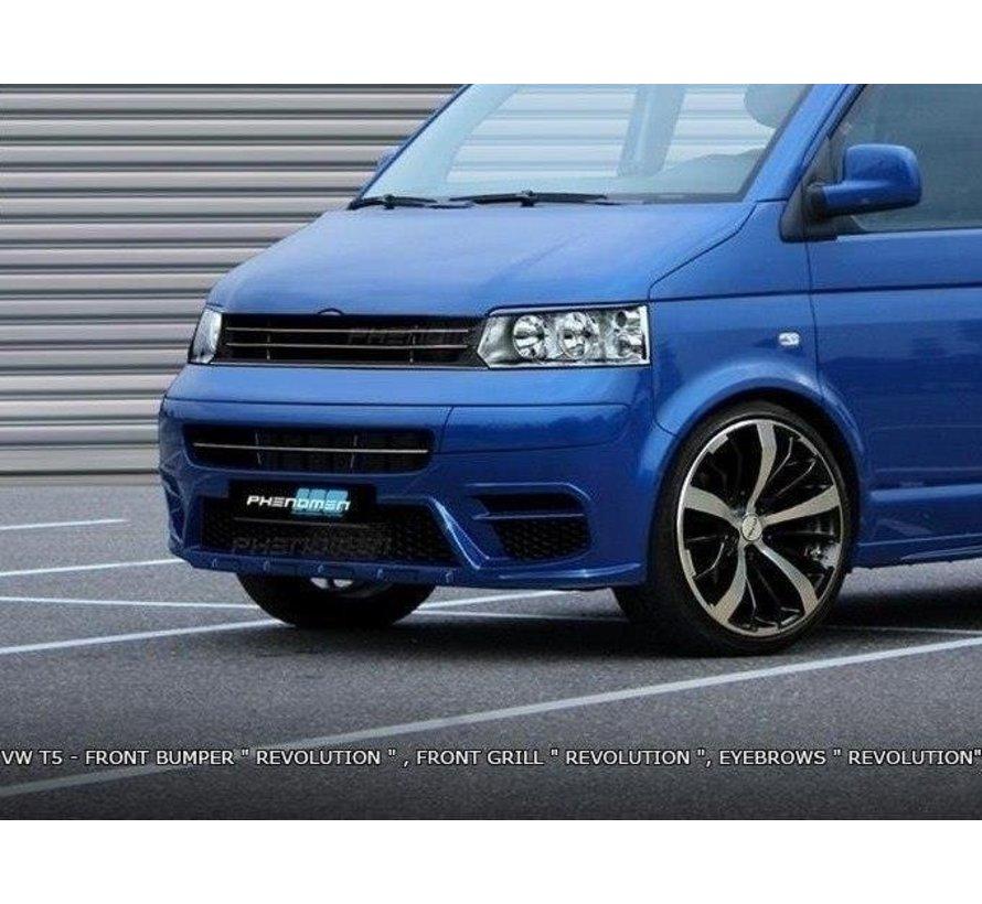Maxton Design FRONT EYEBROWS < REVOLUTION > VW T5