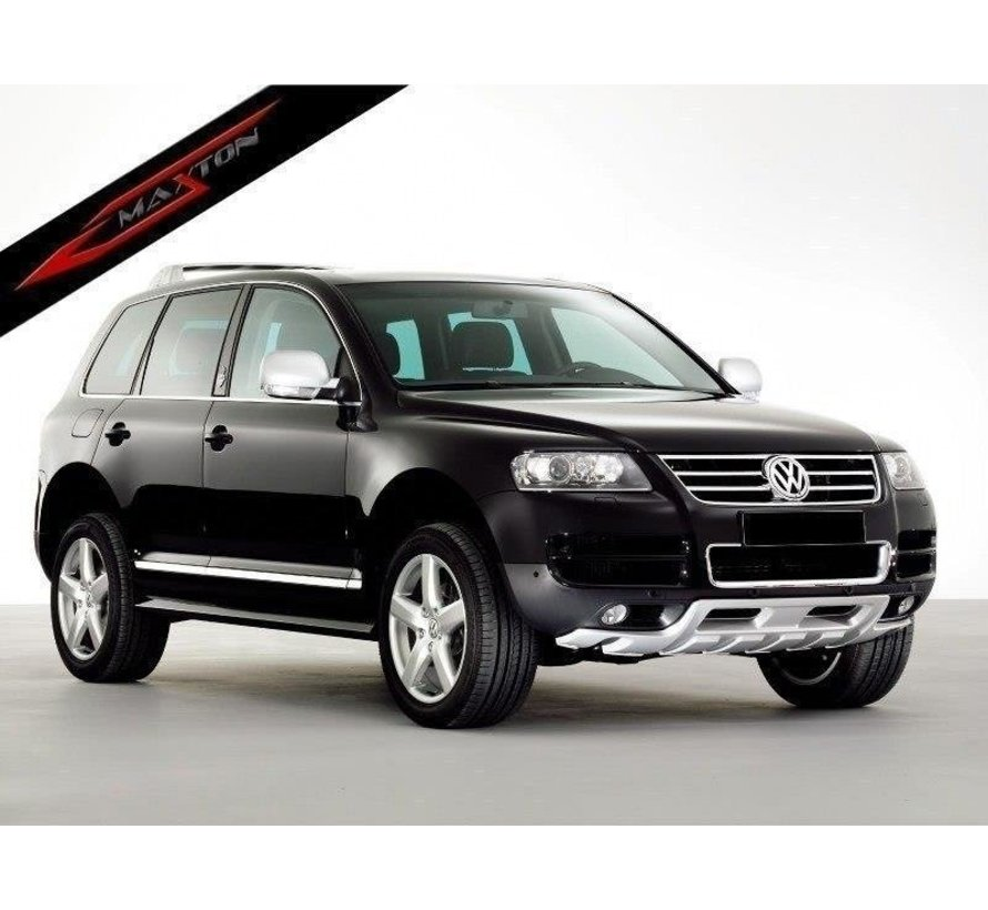 Maxton Design FRONT ADD ON < KING KONG > VW TOUAREG MK1 (FIT ONLY FOR YEARS 2002-2006)