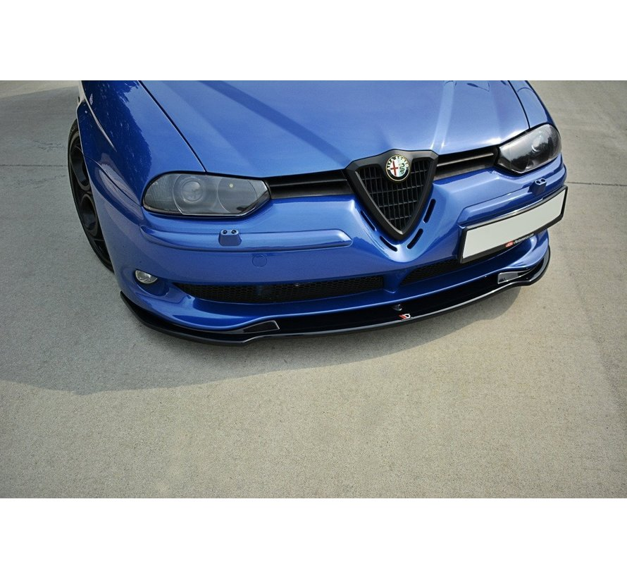 Maxton Design FRONT SPLITTER V.1 ALFA ROMEO 156 GTA