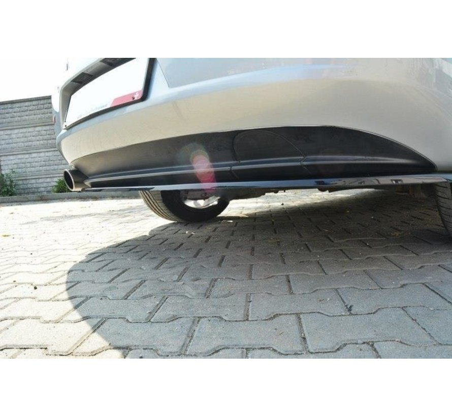 Maxton Design CENTRAL REAR DIFFUSER ALFA ROMEO 159 (without vertical bars)