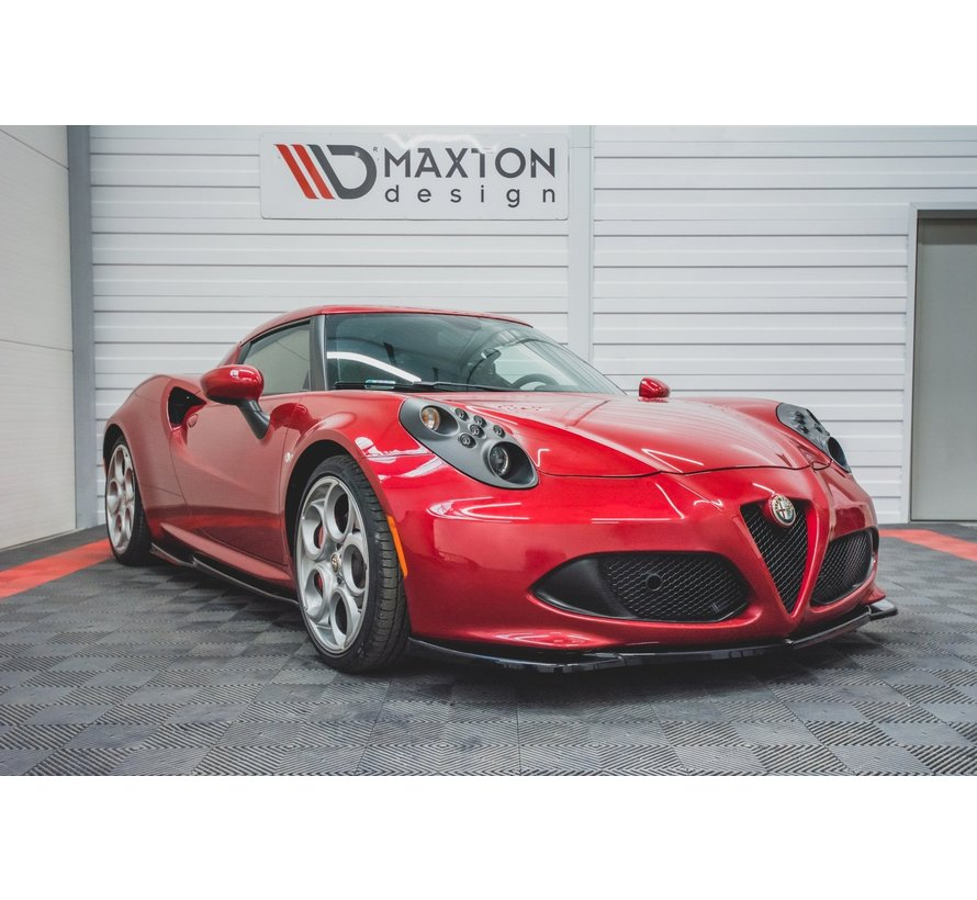Maxton Design FRONT SPLITTER Alfa Romeo 4C