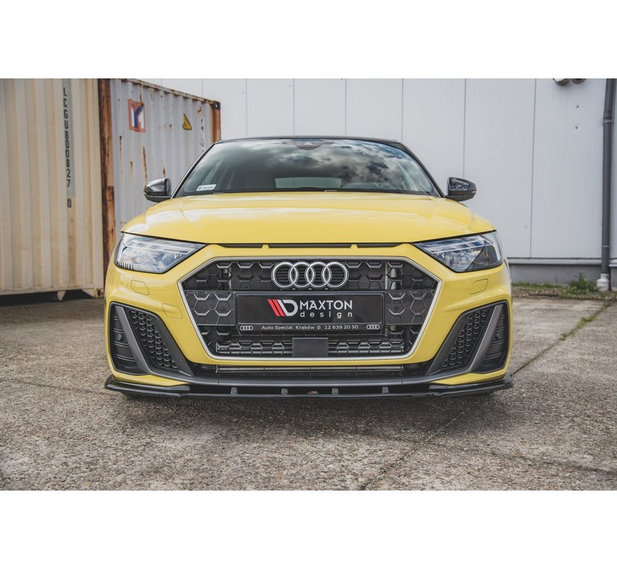 Maxton Design FRONT SPLITTER V.1 Audi A1 S-Line GB