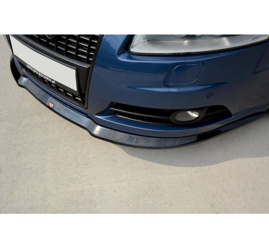 Maxton Design FRONT SPLITTER Audi A6 S-Line C6