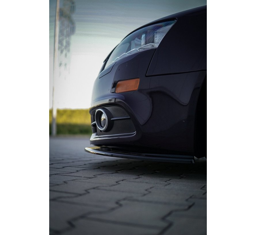 Maxton Design FRONT SPLITTER Audi A6 S-Line C6 FL
