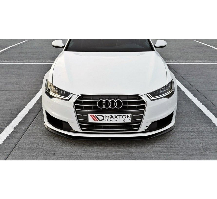 Maxton Design FRONT SPLITTER Audi A6 Ultra C7 FL