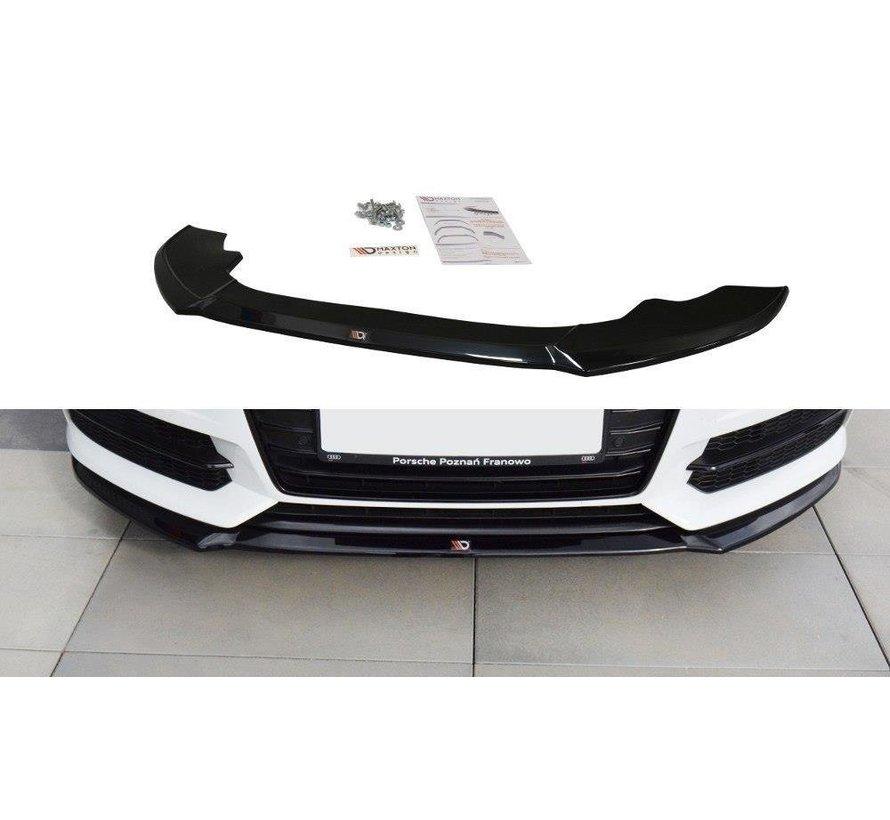 Maxton Design FRONT SPLITTER V.1 Audi A6 C7 S-line/ S6 C7 Facelift