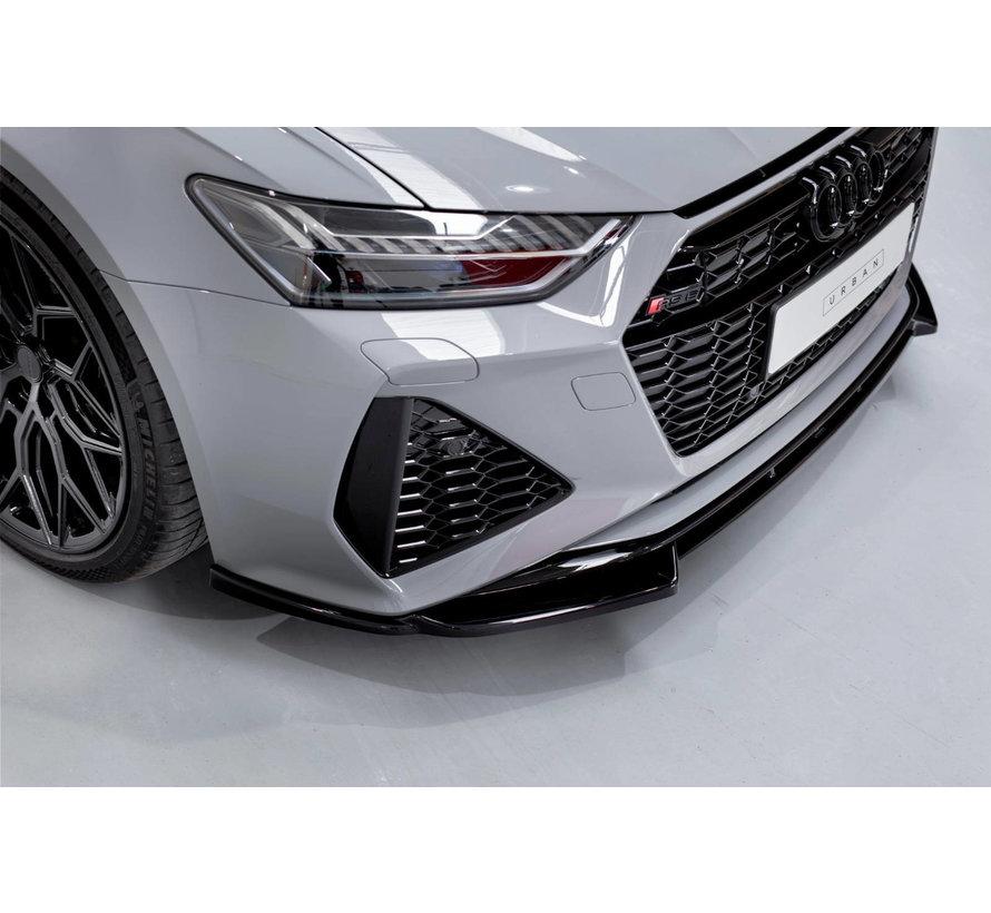 Maxton Design FRONT SPLITTER V.1 Audi RS6 C8