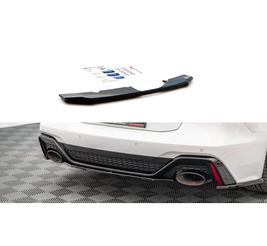 Maxton Design CENTRAL REAR DIFFUSER Audi RS6 C8